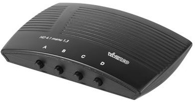 Vivanco HDMI 4 naar 1 switch