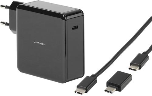 Vivanco Universele USB C voeding 60W