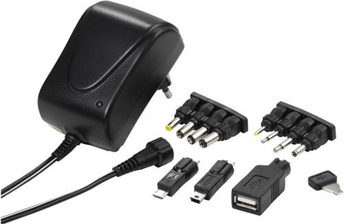 Vivanco PAU 1501 - AC/DC universele adapter 1.5A