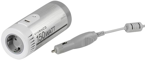 Vivanco CPC 161 - Car DC/AC power inverter