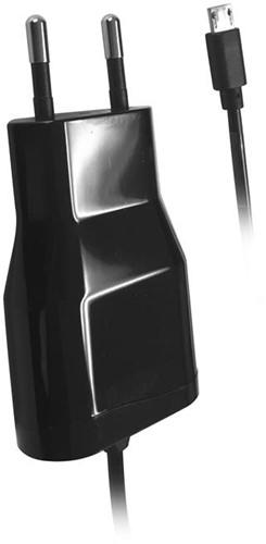 Vivanco thuislader Micro USB 1.2A zwart