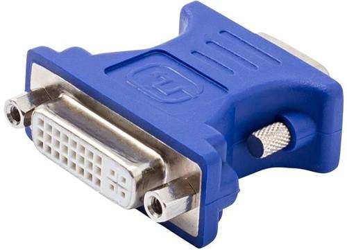 Vivanco adapter DVI-I- socket <-> VGA plug