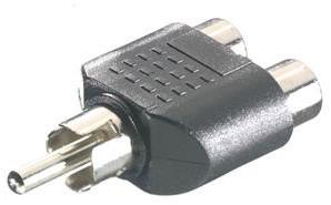 Vivanco RCA splitter 1 plug <-> 2x socket