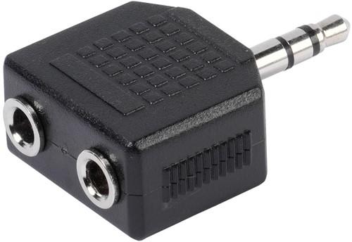 Vivanco Jack 3.5 plug <->2X3.5 socket adapter