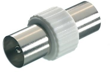 Vivanco Antenne adapter coax plug <-> plug