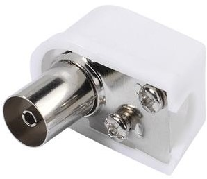 Vivanco Antenne coax socket haaks