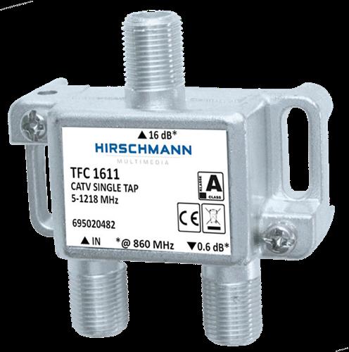 Hirschmann TFC 1611 - CATV enkel aftakelement