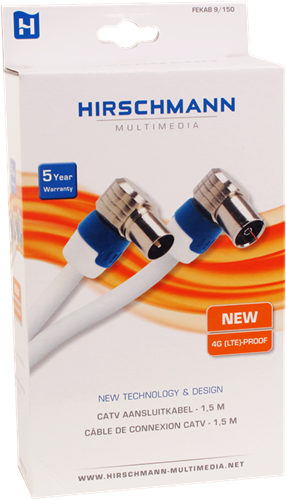Hirschmann FEKAB 5/150 coaxkabel 1.5m