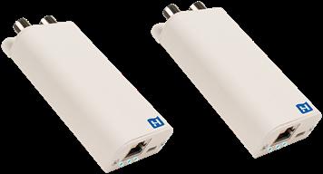 Hirschmann Multimedia over coax adapter 1000Mbps SET 2 stuks