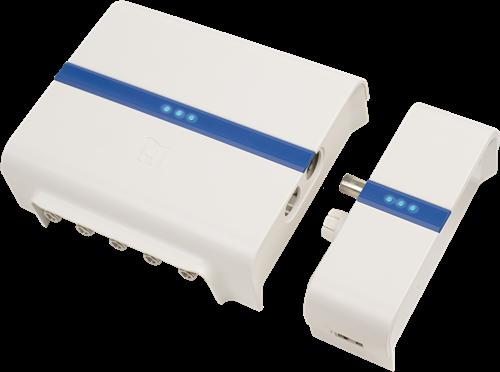 Hirschmann Combi Set HMV41 en Moka adapter