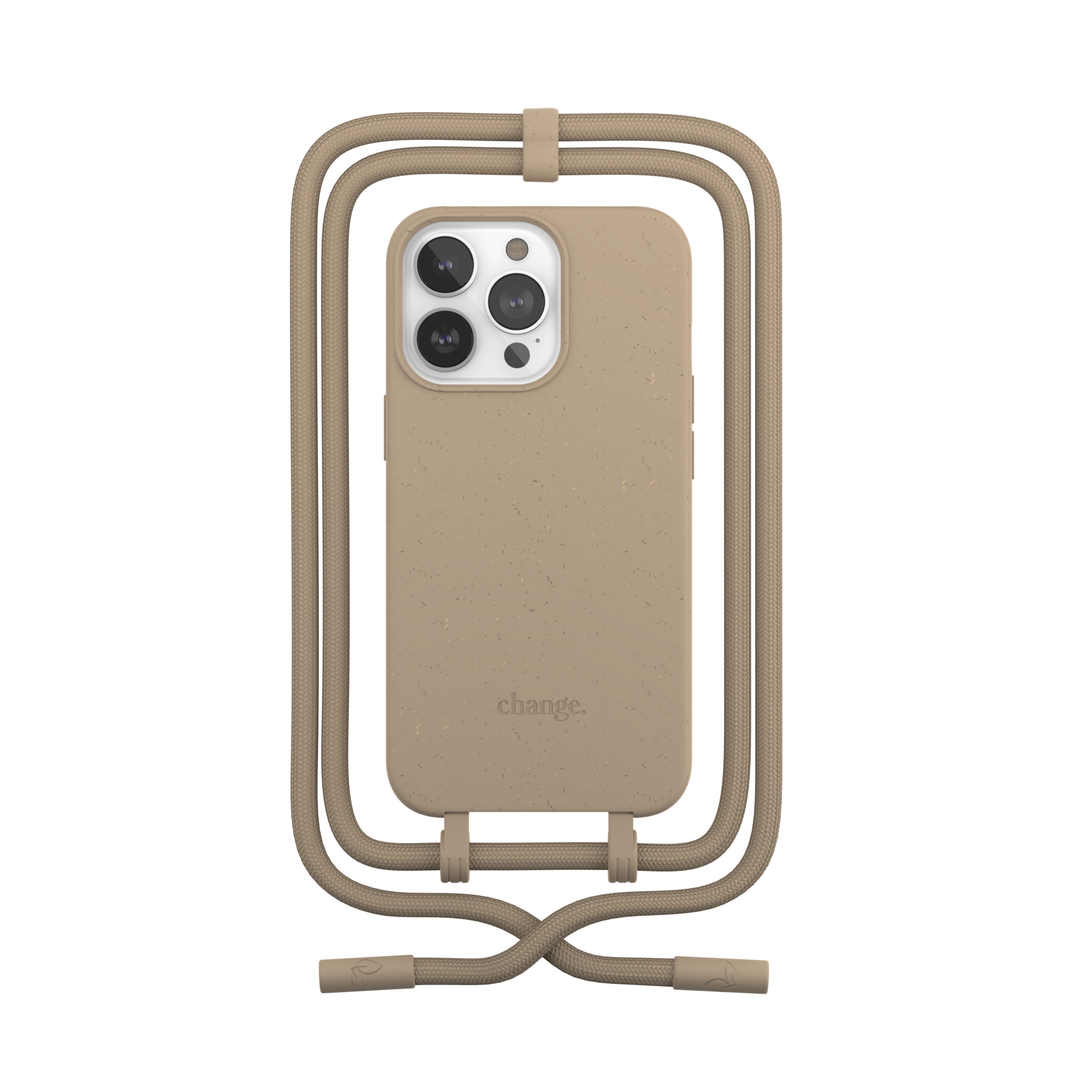 Change Case 2 in 1 Bio - iPhone 13 Pro - Taupe