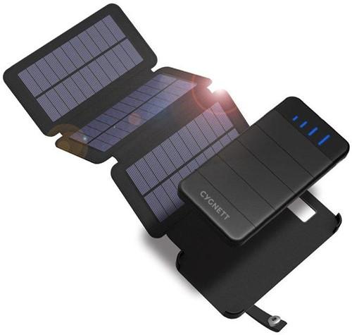 Cygnett ChargeUp Solar Power Bank - 8000 mAh