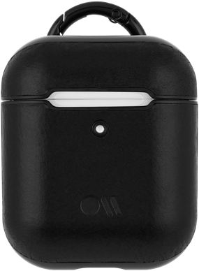 Case-Mate AirPods Case - Leather - Black