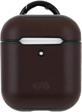 Case-Mate AirPods Case - Leather - Brown