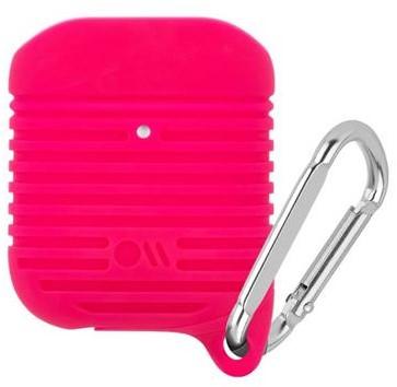 Case-Mate AirPods Tough Case Bright Pink / Silver