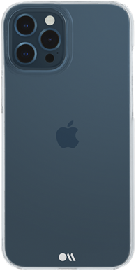 Case-Mate iPhone 12 / 12 Pro Barely There - Clear