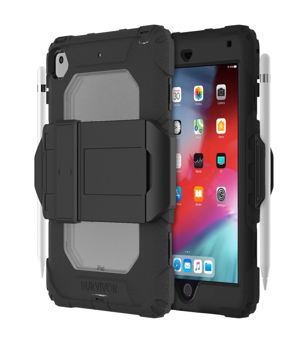 Griffin Survivor All-Terrain stand - iPad Mini 5/4 - Black/C