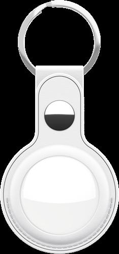 KeyBudz AirTag Keyring White