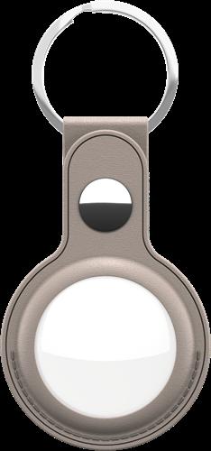 KeyBudz AirTag Keyring Sandy Beige