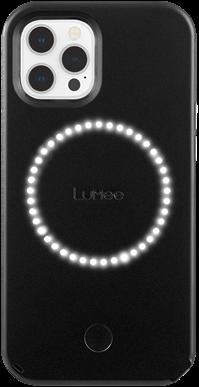 LuMee Duo iPhone 12 Pro Max - Matte Black