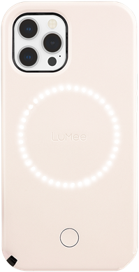 LuMee Duo iPhone 12 Pro Max - Millennial Pink
