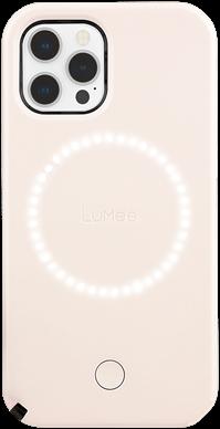 LuMee Duo iPhone 12 / 12 Pro - Millennial Pink