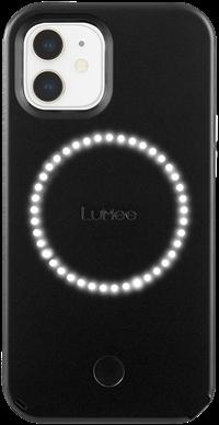 LuMee Duo iPhone 12 mini - Matte Black