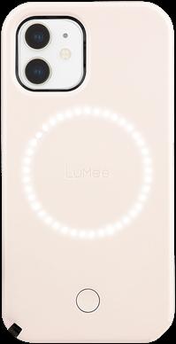 LuMee Duo iPhone 12 mini - Millennial Pink