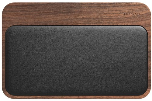 Nomad Base Station wireless charger 2 devices Walnut