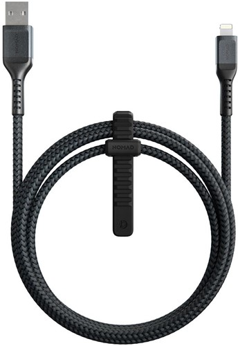 Nomad USB-A - Lightning Rugged Cable - 1.5m - 12W