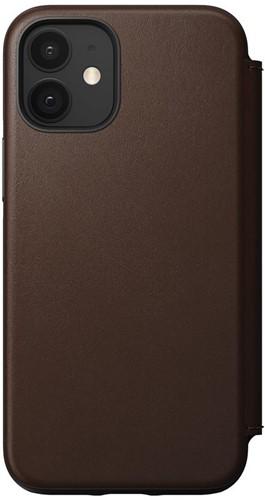 Nomad Rugged Folio iPhone 12 mini - Rustic Brown