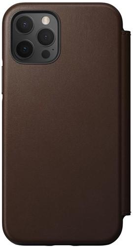 Nomad Rugged Folio iPhone 12 / 12 Pro - Rustic Brown