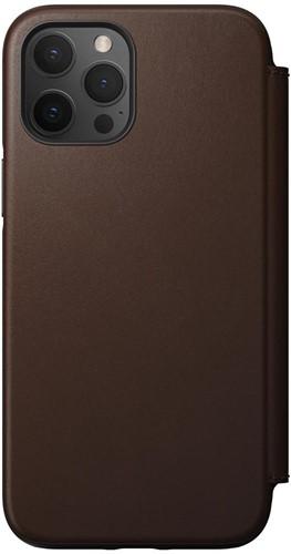 Nomad Rugged Folio iPhone 12 Pro Max - Rustic Brown