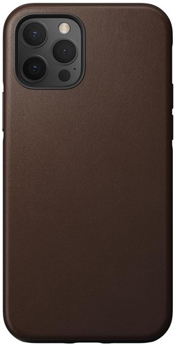 Nomad Rugged Case iPhone 12 / 12 Pro - Rustic Brown