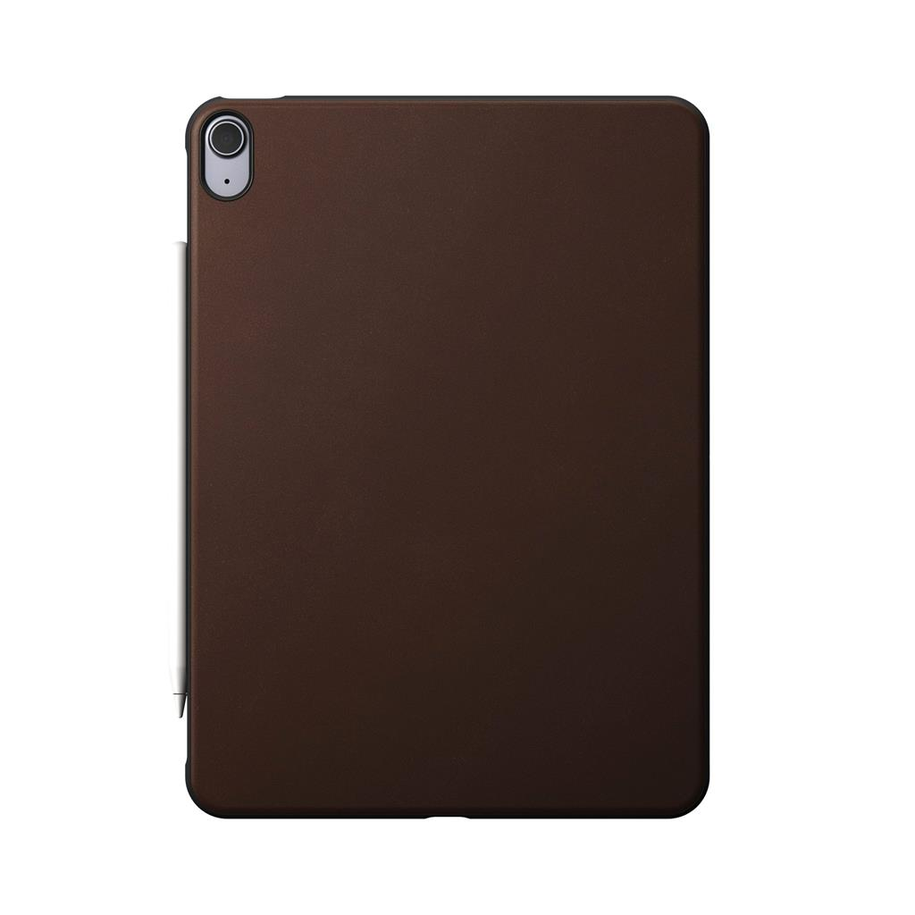Nomad Rugged iPad Air 4th Gen Case Rustic Brown Leather