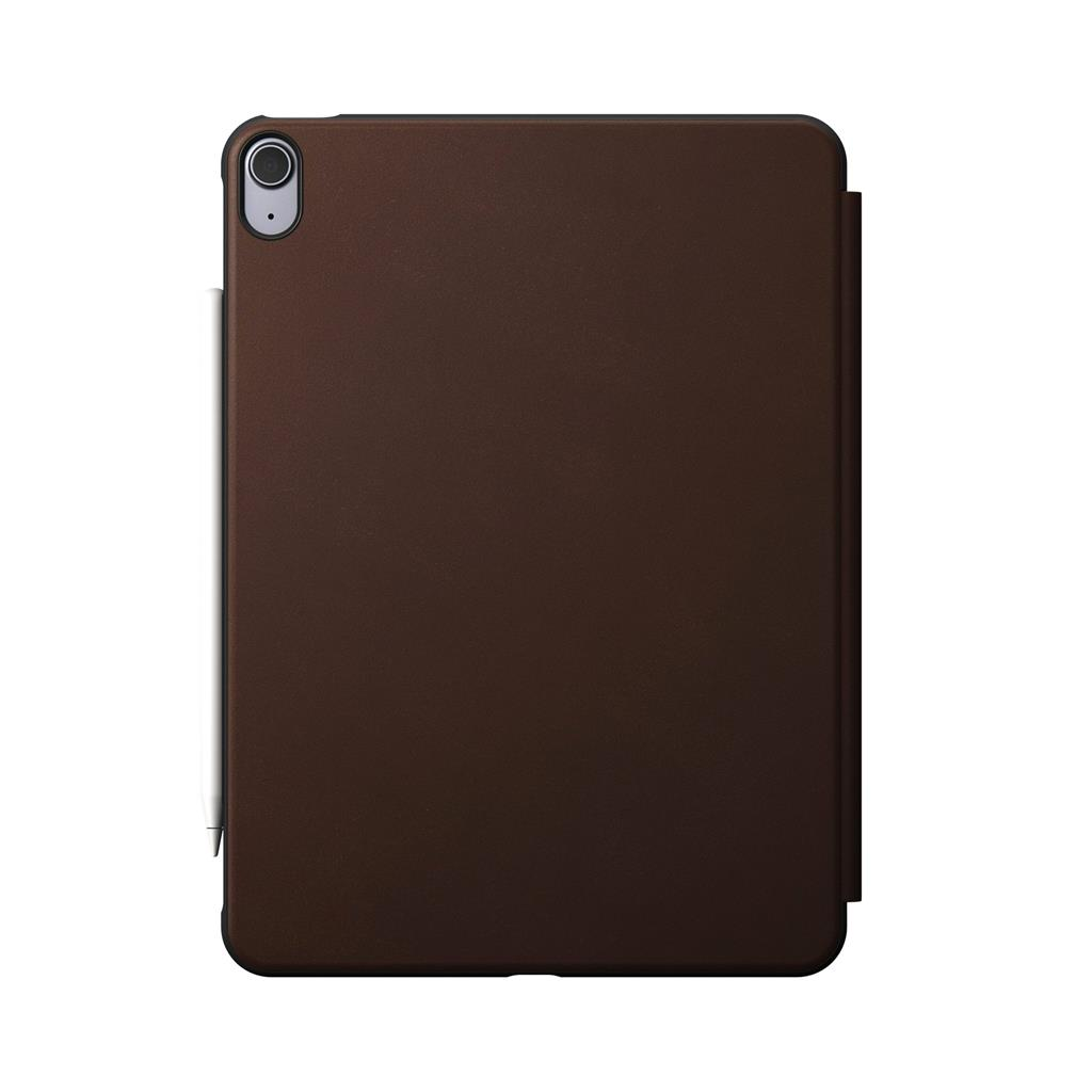 Nomad Rugged iPad Air 4th Gen Folio Rustic Brown Leather