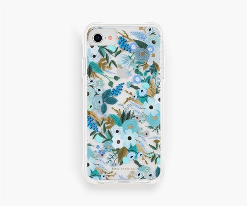 Rifle Paper - Garden Party - Blue - iPhone SE/8/7/6