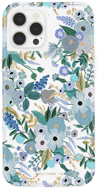 Rifle Paper iPhone 12 Pro Max - Garden Party Blue