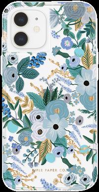 Rifle Paper iPhone 12 mini Garden Party Blue
