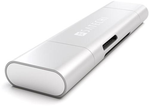 Satechi USB-C USB 3.0 - Micro/SD Reader - Silver