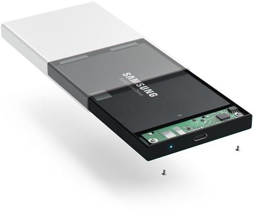 Satechi USB-C HDD/SSD Enclosure - Silver