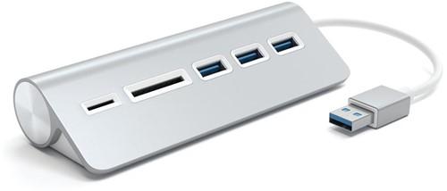 Satechi Aluminium USB 3.0 Hub & Card Reader
