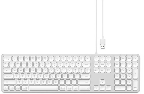 Satechi Wired Keyboard Silver