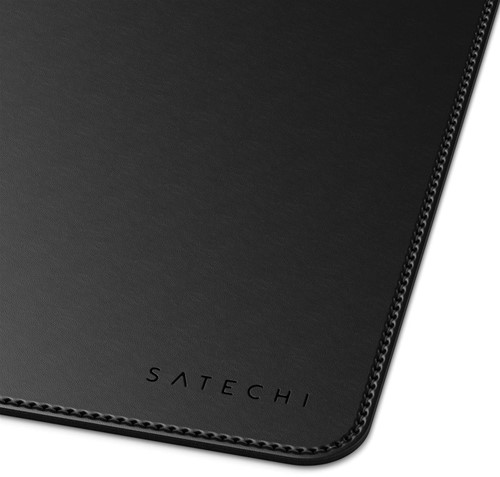 Satechi Eco Leather Desk Mat Black