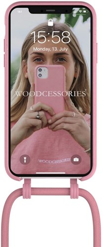 Change Case 2 in 1 Bio - iPhone 12 mini - Coral Pink