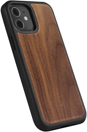 Woodcessories Bumper Case iPhone 12 mini Walnut - Black